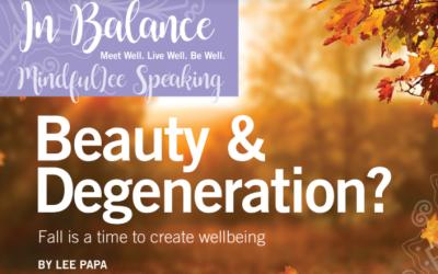 Beauty & Degeneration?